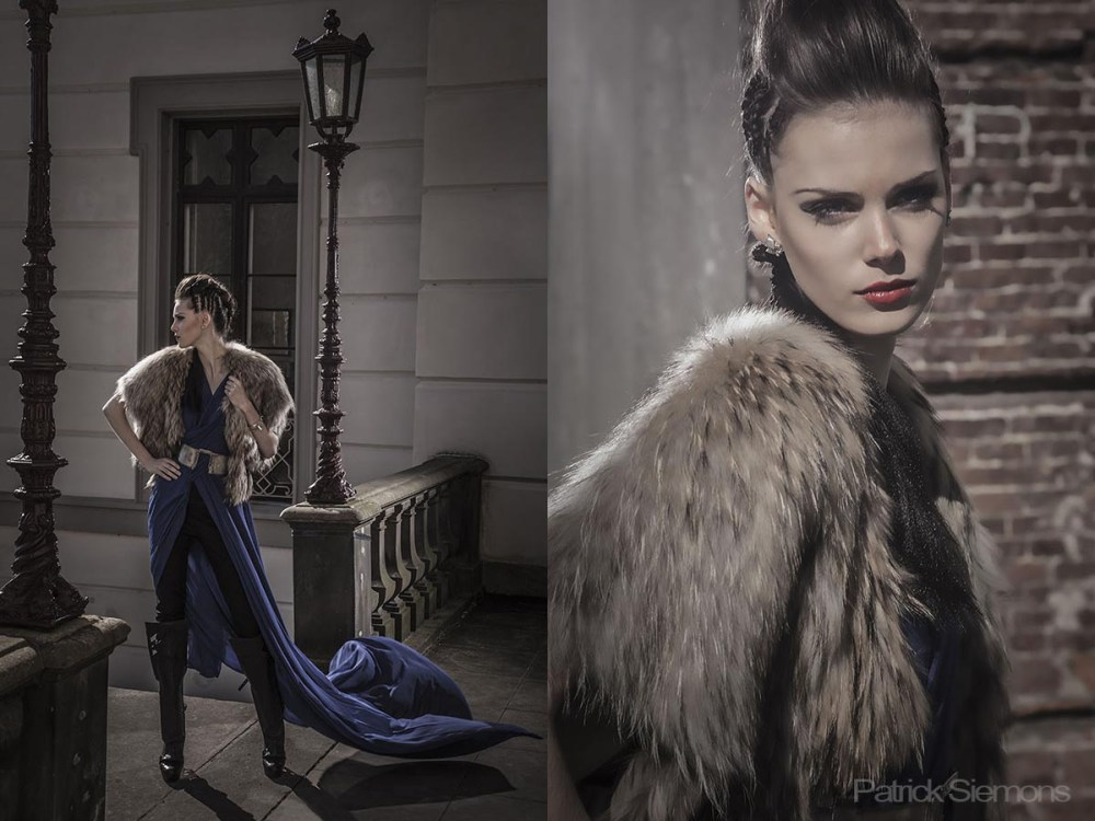 De modefotograaf voor haute couture van fashion designers for High couture brands